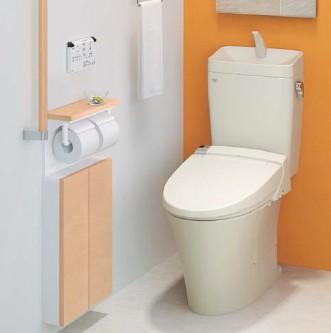 LIXILアメージュZ トイレリフォームプラン シャワートイレCW-KB21QC 手洗い付き