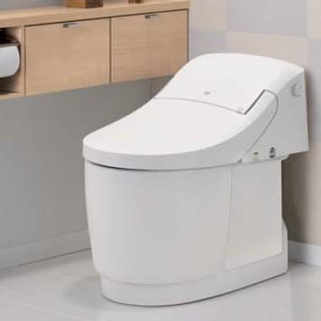 LIXILプレアスLS/CL4A トイレリフォームプラン シャワートイレ 手洗い無し 床排水 排水芯200