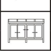 LIXILサニージュF型 床納まりランマ無しタイプ 600タイプ 間口3640×出幅1785ミリ 屋根ポリカーボネート板(一般) 両サイド2枚引き違いテラス窓