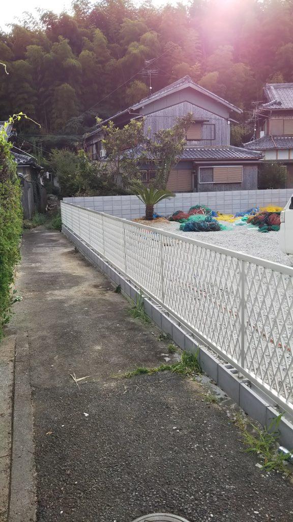 フェンスのリフォーム/淡路島/洲本市/N様/2019.11.6更新