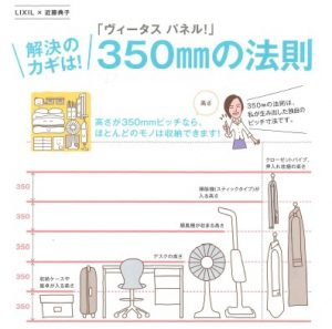 LIXIL商品紹介 Vol. 16 – 押入れ・クローゼットの『350mmの法則』